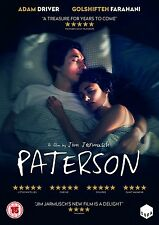 PATERSON di Jim Jarmusch DVD in Inglese NEW .cp