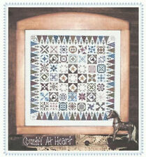 Country Jane - Counted Cross Stitch Pattern - Linda Myers Designs