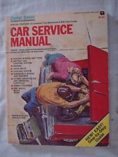 Car Service Manual. Technical Troubleshooting booklet. Repair step-by-step guide