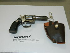 Junior Smith And Wesson Colt 357 Gun Revolver Jet Torch Lighter USA Stocked