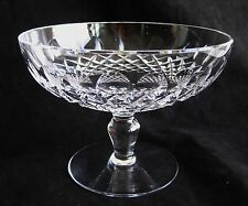 Fine Vintage Waterford Colleen Footed Round Crystal Compote