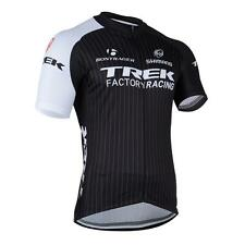 Road Men's Team Racing Cycling Short Sleeve Polyester Jersey Top Size S-3XL