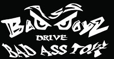 "Bad Ass Boys Evil Eyes Vehicle Window Wall Boat Vinyl Decal Sticker 7"" x 3.5"""