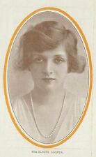*GLADYS COOPER RARE 1918 THE NAUGHTY WIFE PROGRAM WITH PHOTO*