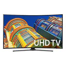 """Samsung 65"""" Class Curved 4K Ultra HD UHD LED LCD TV UN65KU649DFXZA New!!"""