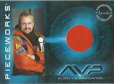"Alien Vs Predator AVP - PW-3 ""Quinn"" Costume Card + Clean Punched Redemption"
