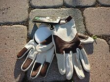 NEW Landyachtz Leather Downhill Slide Gloves Longboard Skateboard Large Lg