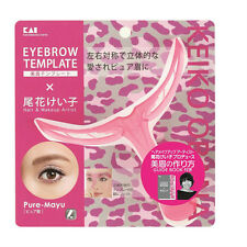 New Eyebrow Stencil Plastic Template with Guide Book You can make Beauty Line