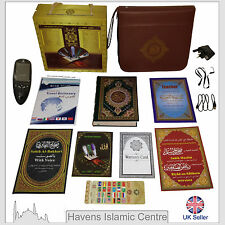 "Quran Book with Digital Quran read pen 2.4"" LCD including leather bag"
