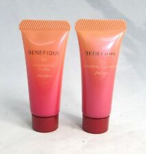 Shiseido Benefique NT Cleansing Foam & Mineral Gommage Exfoliation Mask