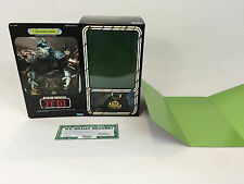 "brand new Star wars rotj 12"" gamorrean guard box + inserts"