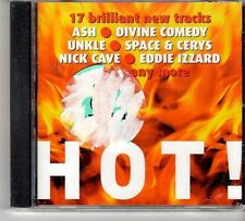 (FD605) Hot, 17 tracks various artists - sealed Select Magazine CD