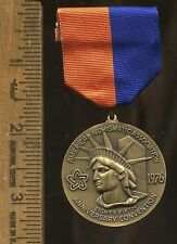 1976 New York City ANA Medal with Ribbon - 85th Anniversary Convention / N128