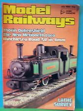 MODEL RAILWAYS JULY 1980   WINCHESTER ROAD ~ SR IN 4mm SCALE 16.5mm GAUGE LAYOUT