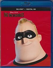 The Incredibles (Blu-ray, 2015, 2-Disc set) No Digital copy