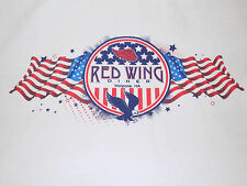 Red Wing Diner Walpole, MA T Shirt Size Medium White