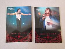 Michael Jackson - No 44 & 84 - 2 Panini Trading Cards 2011 *RARE* aus USA