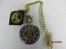 FRANKLIN MINT ROBERT E LEE POCKET WATCH WITH POUCH   NWT
