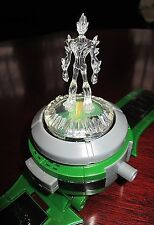 Ben 10 Alien Force Ultimate Omnitrix with Swampfire fig Sound Light - Rare 2008