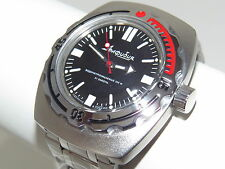 Man's Fashion VOSTOK Russian military Amphibian diver 200m. auto watch VA#090916