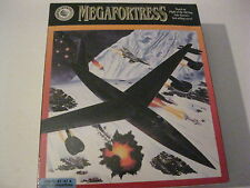"Megafortress B-52 Flight Simulator new factory sealed PC game 3.5"" disks 1991"