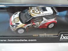 CITROEN DS3 WRC Abu Dhabi Winner 2013 IXO RALLYE 1:43 DIECAST-CAR-MODEL RAM519