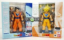 "S.H. Figuarts ""Ultimate Son Gohan + Super Saiyan Goku Dragonball Z Action Figure"