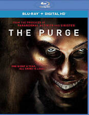 The Purge (Blu-ray Disc, 2015) *NO DIGITAL HD copy*