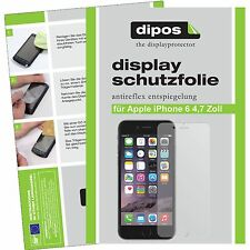 6x Apple iPhone 6S 6 S Schutzfolie matt Displayschutzfolie Folie dipos