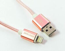 High Quality Rose Gold USB Charge/Sync Cable For Apple iPhone 5 and 6 All Models