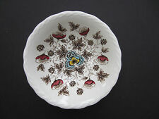 "Old Chelsea W.H. Grindley transferware ironware Staffordshire 6.75"" bowl"