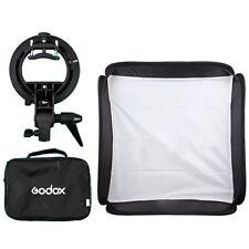 Godox 60x60cm Softbox + S-Type Bracket Bowens Holder+ Bag Kit for Camera Flash