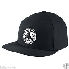 NIKE AIR JORDAN ADJUSTABLE SNAPBACK RETRO IX SNEAKER BLACK HAT/CAP NWT