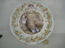 "ROYAL DOULTON BRAMBLY HEDGE 8"" THE SEARCH PARTY PLATE BONE CHINA 1st QUALITY"