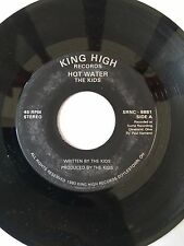 "RARE OHIO POWER POP PUNK 45/ THE KIDS ""HOT WATER"" VERY CLEAN  HEAR"