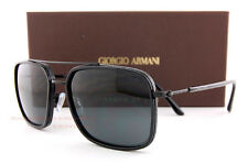 Brand New GIORGIO ARMANI Sunglasses AR 6031 3001/87  Black/Gray Men
