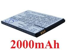 Battery 2000mAh type PX-3552 PX-3552-675 PX-3552-912 For Simvalley SPX-12