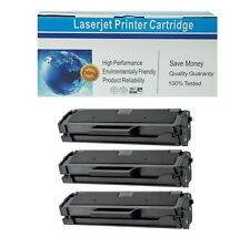 3 Pack MLT-D101S Toner Cartridge for Samsung ML-2165W SCX-3400 SCX-3405W 3405FW