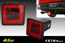 "2"" TRAILER TOWING HITCH RECEIVER COVER WITH BRAKE LIGHT LAMP FORD F150 F250 F350"