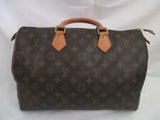 AUTH Louis Vuitton Monogram SPEEDY   35  --TOTE Bag /purse
