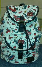 [SANBK0219] Hello Kitty Tattoo Loungefly Printed Canvas Backpack