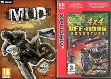 MUD FIM Motocross World Championship & cabelas 4x4 off road adventure new&sealed