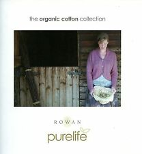 ROWAN PURELIFE Organic Cotton Collection Knitting Pattern Book 18 designs Family