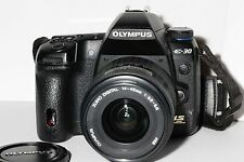 Olympus Evolt e30 with lens 12.3MP DSLR camera  - Black