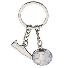 Portachiavi,ciondolo per borsa,scarpino con tacchetti & pallone da calcio
