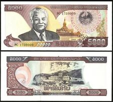 Laos 5000 KIP 2003 P 34b UNC