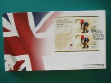 2012 LONDON 2012 PARALYMPIC GAMES GOLD MEDAL WINNER FDC : SARAH STOREY T/TRIAL