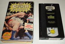 wwe WWF CRUNCH CLASSIC ~ 1992 Coliseum Video vhs in box; host Rowdy Roddy Piper