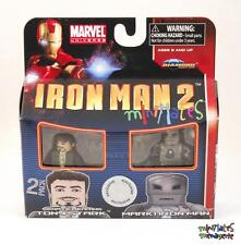 Marvel Minimates TRU Iron Man 2 Movie Senate Hearing Tony Stark & Mark I Armor