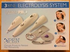 Verseo Pro 3-in-1 Electrolysis System ePen Technology Hair Remover